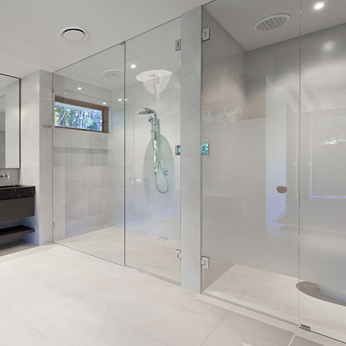 Dual Shower - Bathroom