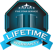 Strictly Shower Doors, Warranty Logo